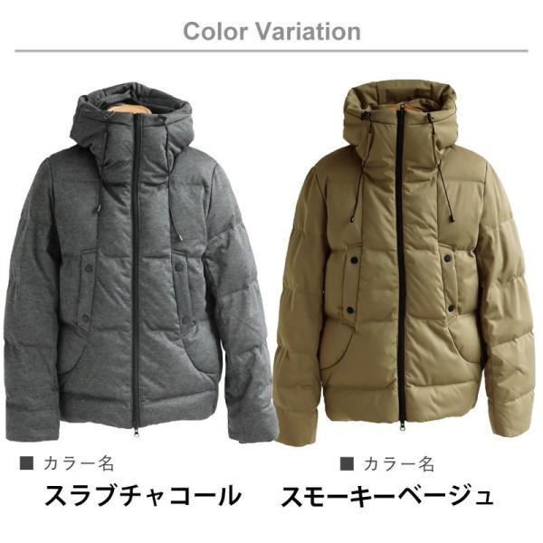 ダウンジャケット メンズ  メンズダウンジャケット メンズ ボリュームネック フード付き 冬 軽量 保温|paty|20