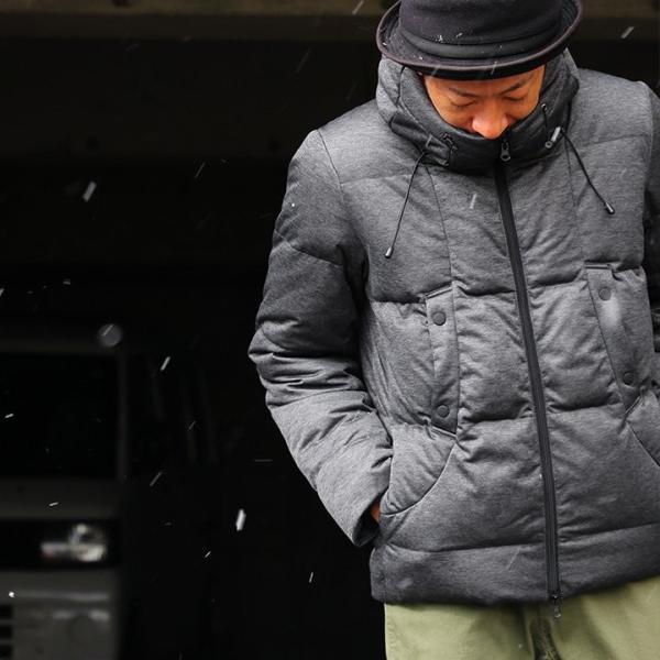 ダウンジャケット メンズ  メンズダウンジャケット メンズ ボリュームネック フード付き 冬 軽量 保温|paty|05