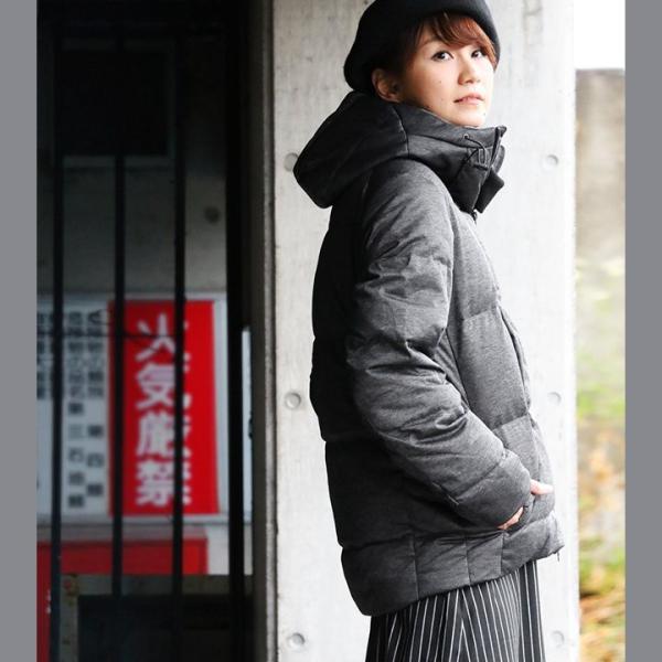 ダウンジャケット メンズ  メンズダウンジャケット メンズ ボリュームネック フード付き 冬 軽量 保温|paty|06