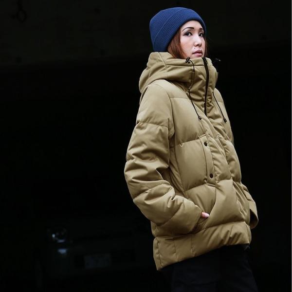 ダウンジャケット メンズ  メンズダウンジャケット メンズ ボリュームネック フード付き 冬 軽量 保温|paty|08