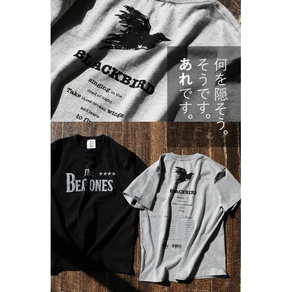Tシャツ 半袖 丸胴 クルーネック  重ね着 プリントtシャツ TOneontoNE  レディース メンズ 夏 おしゃれ paty 05