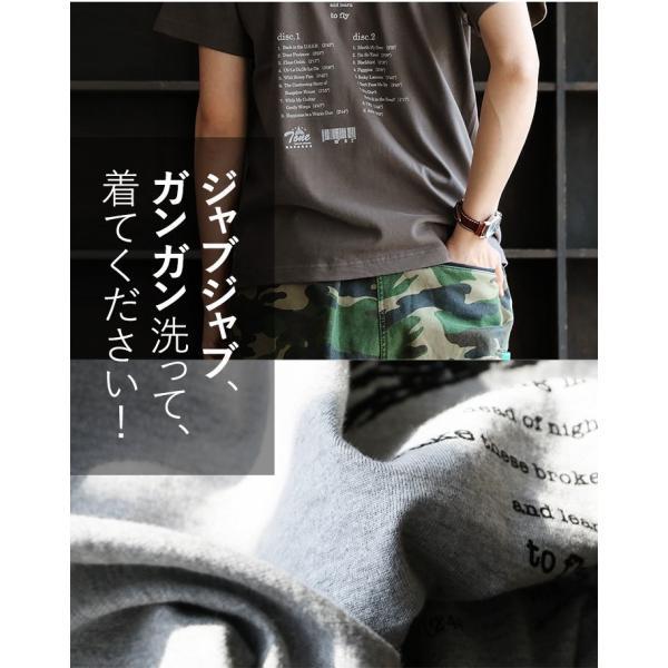 Tシャツ 半袖 丸胴 クルーネック  重ね着 プリントtシャツ TOneontoNE  レディース メンズ 夏 おしゃれ paty 07
