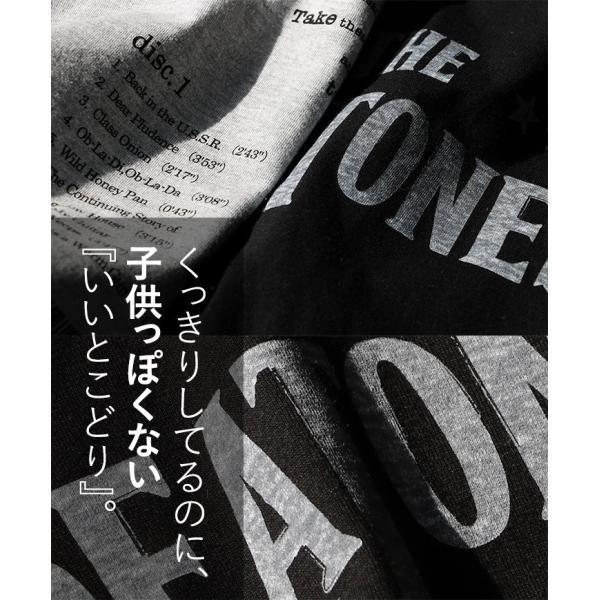 Tシャツ 半袖 丸胴 クルーネック  重ね着 プリントtシャツ TOneontoNE  レディース メンズ 夏 おしゃれ paty 08