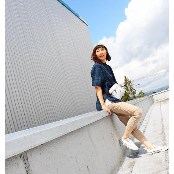 シャツ プルオーバー 半袖 ネック ハーフジップ付き コットン100% 綿100% ブラックウォッチ (セイル) SAIL  レディース メンズ|paty|12