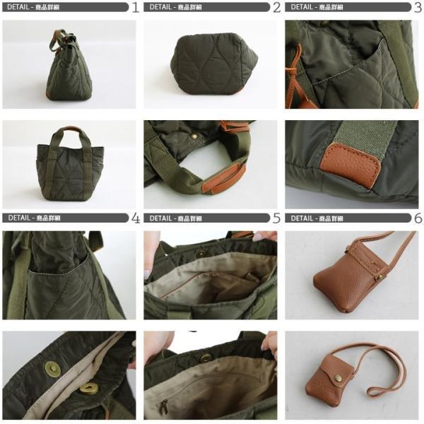 ミニトート トートバッグ バッグ かばん BAG 鞄 ポリキルティング カウレザー ウェーブキルティング (トーラ) toleur|paty|03