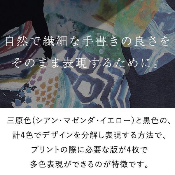 Tシャツ 半袖 カットソー クルーネック  ES 星 スター プリント  綿100% 米綿 BLUETO レディース メンズ 春夏 おしゃれ|paty|10