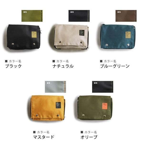 ボディバッグ ショルダーバッグ 財布 ミニ コンパクト 軽量 (トーン) TOneontoNE 40代 50代|paty|19
