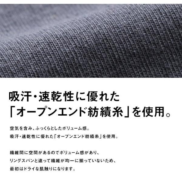 Tシャツ TEE クルーネック ムービング ポケット ストレッチ 無地 長袖 ナイロン コットン カジュアル メンズ レディース POWER TO THE PEOPLE|paty|13