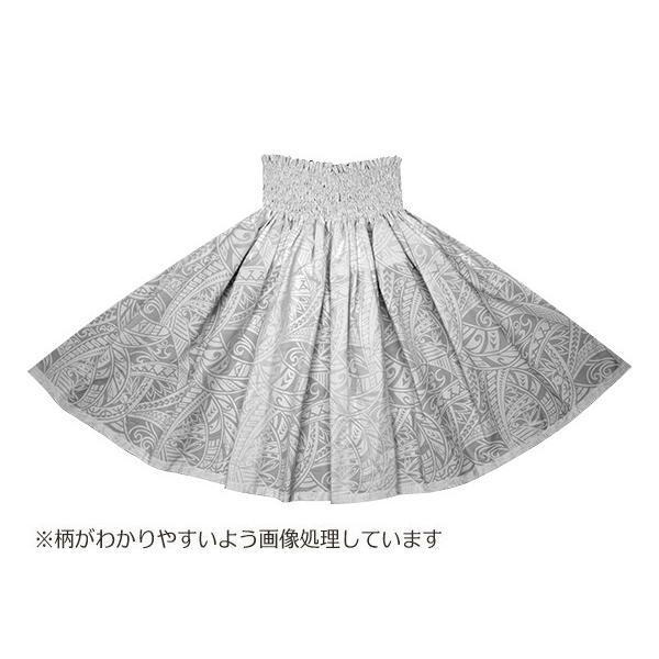 白のパウスカート タパ・トライバル柄 2702WH フラダンス 衣装|pauskirt|03