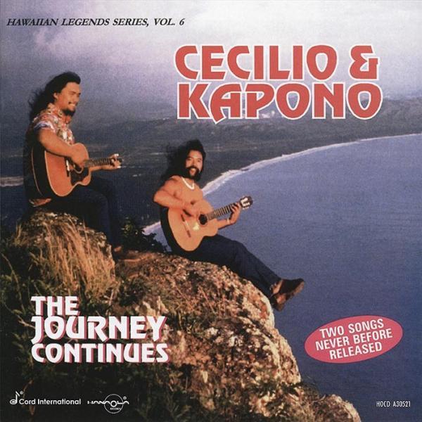The Journey Continues - Cecilio&Kapono セシリオ&カポノ cdvd-cd 【メール便可】