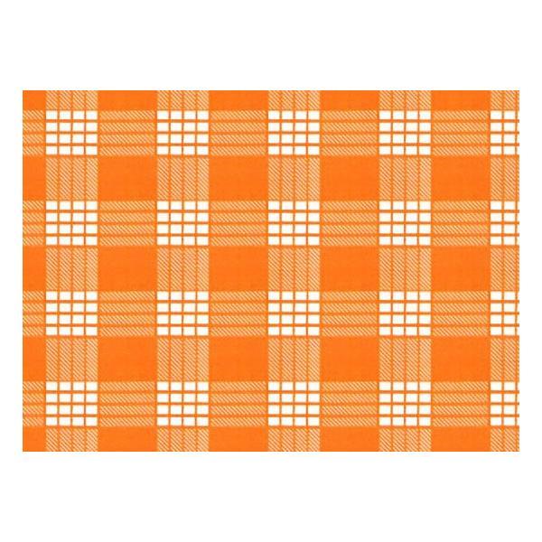 オレンジのパウスカート パラカ柄 2028OR フラダンス 衣装|pauskirt|02
