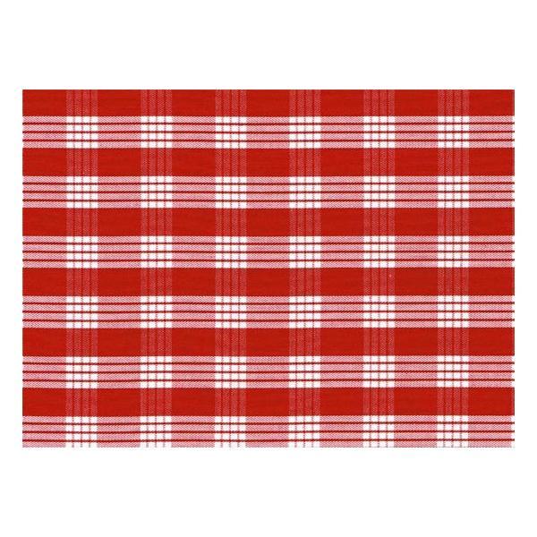 赤のコットンパウスカート パラカ柄 綿100% ctt-palaka フラダンス 衣装 pauskirt 02
