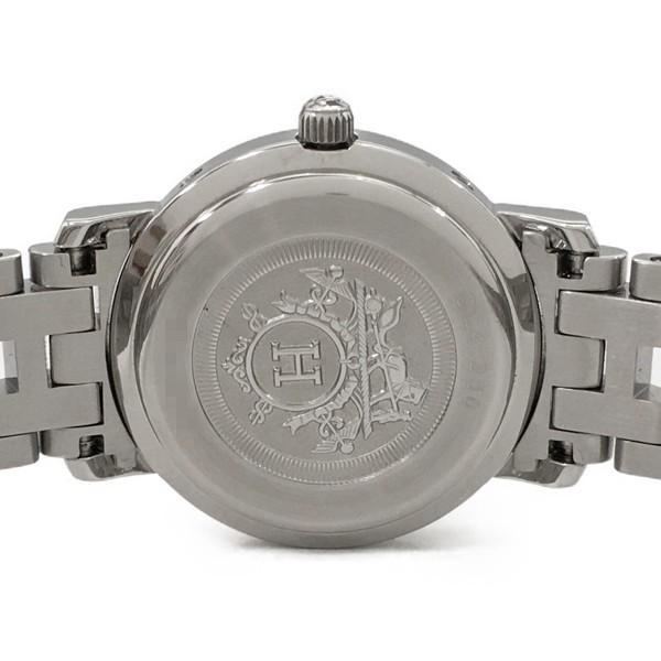エルメス クリッパー ナクレ ダイヤ シェル文字盤 レディース 腕時計 クォーツ HERMES CL4.230