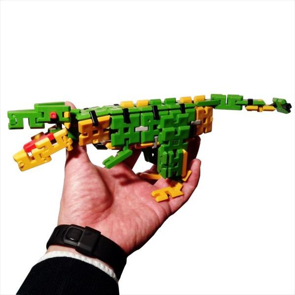 ピーブロック「日本の恐竜セット」知育玩具 教材 組み立て 創造力 複数恐竜 pblock 02