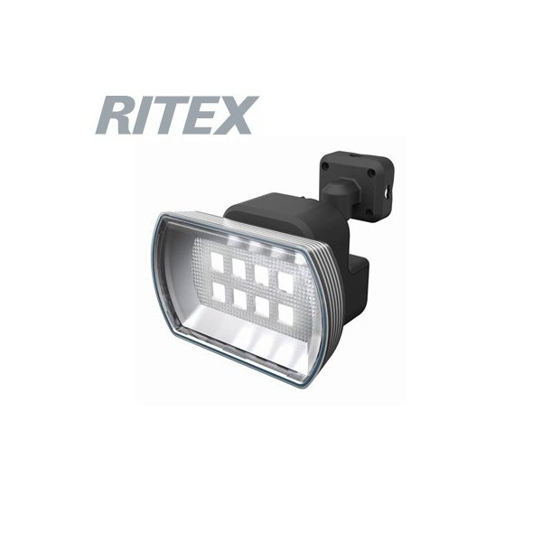 ライテックス フリーアーム式 LEDセンサーライト 防雨型 乾電池式タイプ 4.5Wワイド 400lm 白熱球60W相当  CBA-150 RITEX