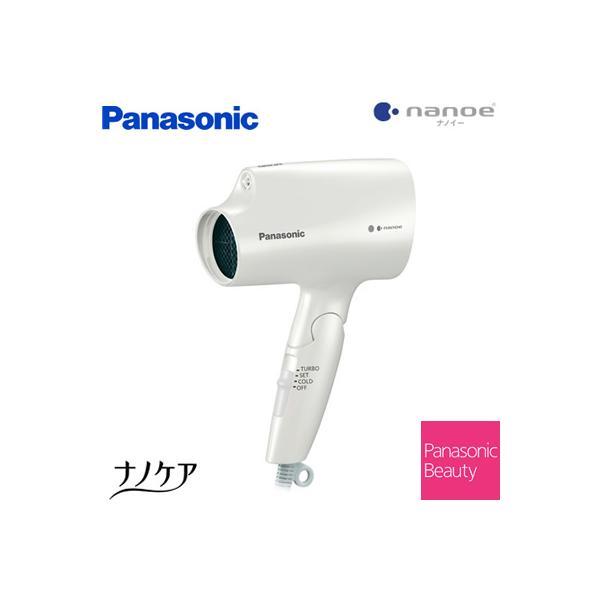 パナソニックヘアードライヤーナノケアナノイーコンパクト軽量タイプEH-NA2E-W白
