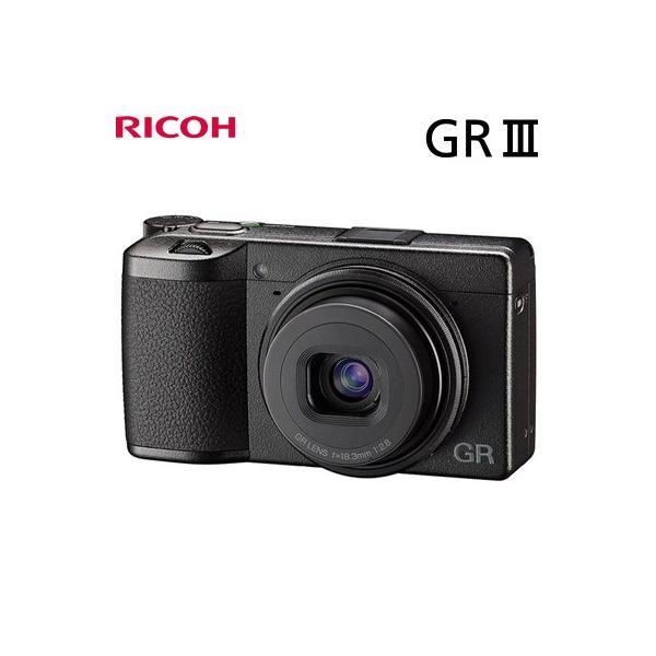 リコー デジタルカメラ RICOH GR III GRシリーズ タッチパネル搭載 ハイエンドコンパクトデジタルカメラ GRIII