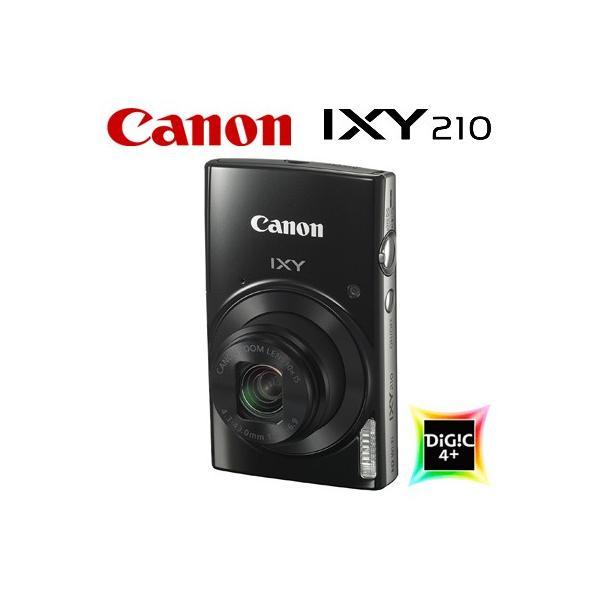IXY (イクシー) Canon (ブラック) IXY210 コンパクトデジタルカメラ