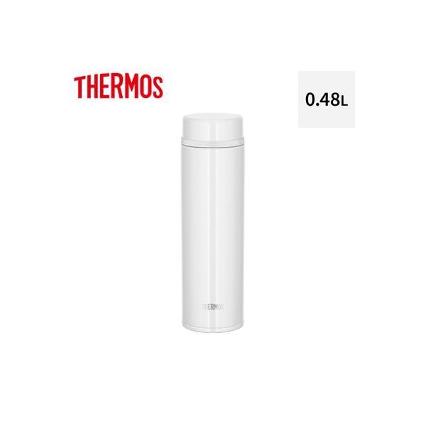 サーモス 0.48L 水筒 真空断熱ケータイマグ JNW-480-PRW パールホワイト