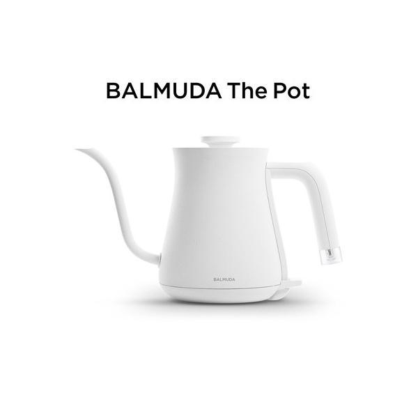 バルミューダ ステンレス製 電気ケトル 0.6L K02A-WH ホワイト BALMUDA
