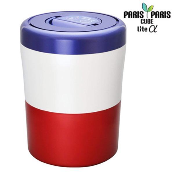 島産業 家庭用 生ごみ減量乾燥機 生ごみ処理機 パリパリキューブ ライト アルファ PCL-33-BWR トリコロール 沖縄離島可