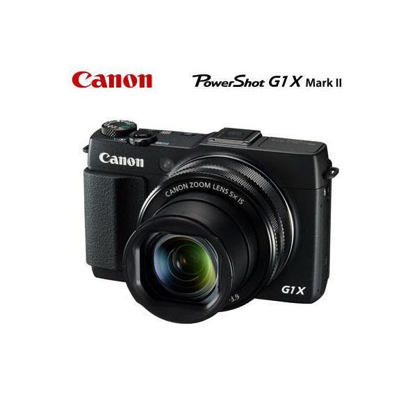 キヤノン デジタルカメラ PowerShot G1 X Mark II PSG1X-MKII ブラック