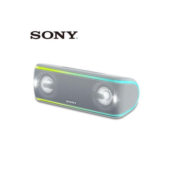 ソニー ワイヤレスポータブルスピーカー SRS-XB41-W ホワイト