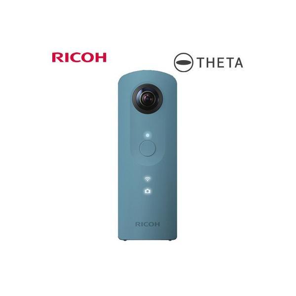リコー デジタルカメラ リコー・シータSC RICOH THETA SC 全天球撮影カメラ THETA-SC-BL ブルー 360度高画質撮影
