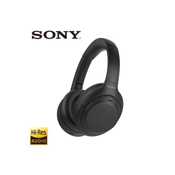 SONYヘッドホンワイヤレスノイズキャンセリングステレオヘッドセットハイレゾ対応BluetoothWH-1000XM4-Bブラッ