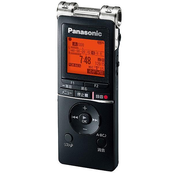 【在庫目安:お取り寄せ】Panasonic  RR-XS470-K ICレコーダー (ブラック)