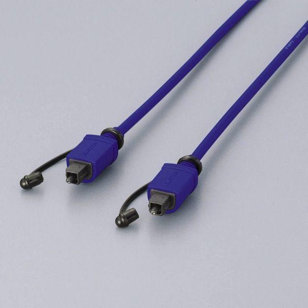【在庫目安:僅少】ELECOM  DH-HK20 <DVDレコーダー系>音響用 光デジタルケーブル 2m