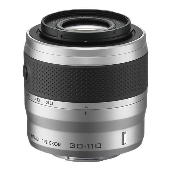 【在庫目安:お取り寄せ】Nikon  1NVR30-110SL 1 NIKKOR VR30-110mm f/ 3.8-5.6 シルバー