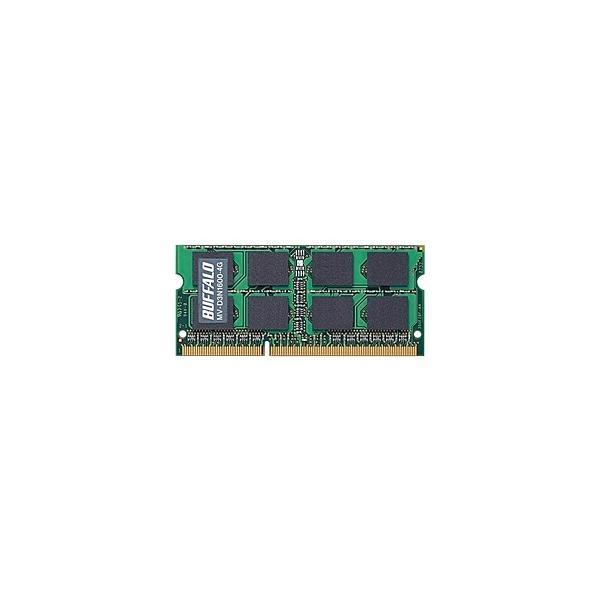 【在庫目安:あり】 バッファロー MV-D3N1600-4G D3N1600-4G相当 法人向け(白箱)6年保証 PC3-12800 DDR3 SDRAM S.O.DIMM 4GB