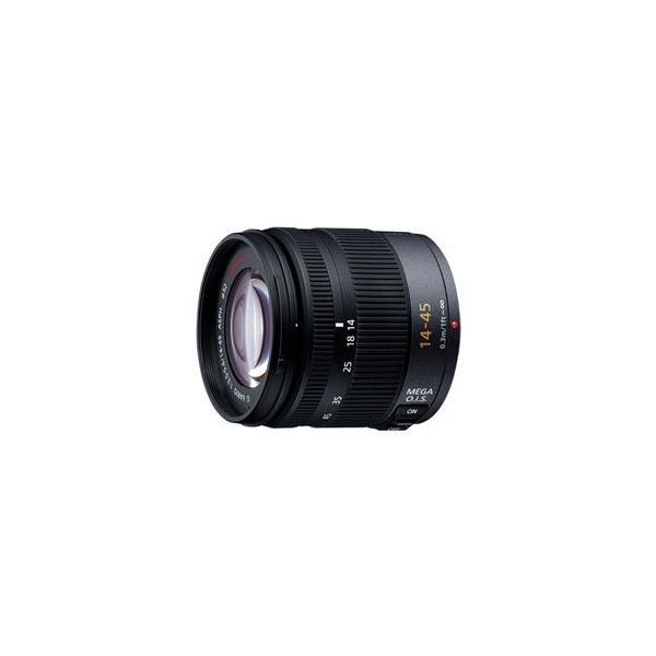 【在庫目安:お取り寄せ】Panasonic  H-FS014045 デジタル一眼カメラ用交換レンズ LUMIX G VARIO 14-45mm/ F3.5-5.6 ASPH./ MEGA O.I.S.