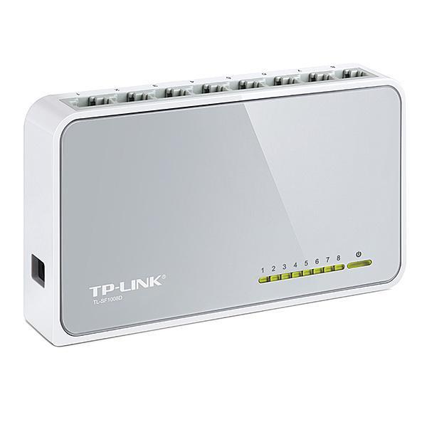 【在庫目安:僅少】 ティーピーリンクジャパン TL-SF1008D 8ポート 10/ 100Mbps デスクトップ スイッチ