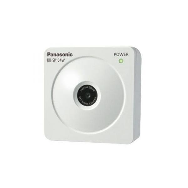 [取寄せ品] Panasonic BB-SP104W BB-S Series HDネットワークカメラ IPv6/IPv4 H.264+JPEG対応 (無線)