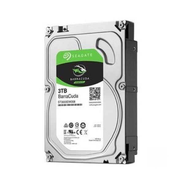 Seagate ST3000DM007 [3TB/3.5インチ内蔵ハードディスク] BarraCuda/ SATA 6Gb/s接続 /2TBプラッタ採用/バルク品
