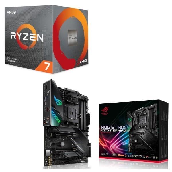 [パーツセット]AMD Ryzen 7 3700X BOX + ASUS ROG STRIX X570-F GAMING セット