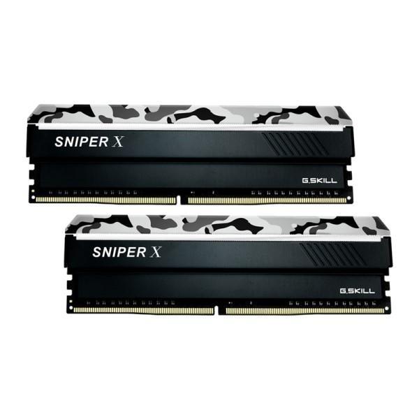 G.SKILL F4-3200C16D-16GSXWB [DDR4-3200/8GB x2枚] デスクトップ用メモリ Sniper X シリーズ