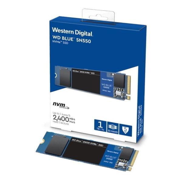 WesternDigitalWDS100T2B0C1TBWDBlueSN550NVMeSSD