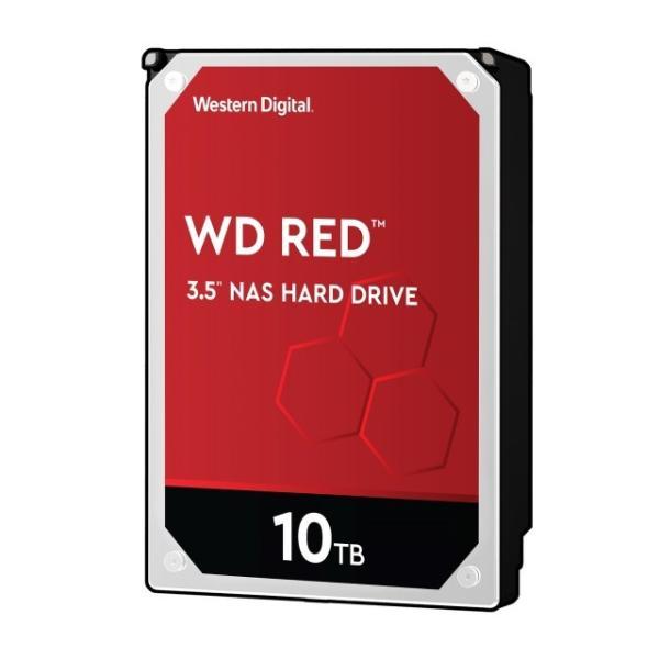 Western Digital WD101EFAX-RT 10TB 3.5インチHDD WD Red シリーズ SATA3 6Gb/s