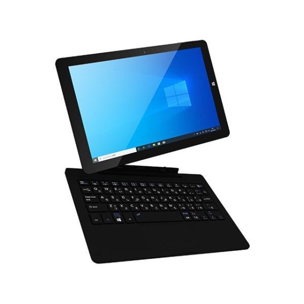 [台数限定]KEIAN KIC104PRO-BK Windows 10 Pro 64bitを搭載した2in1タブレット