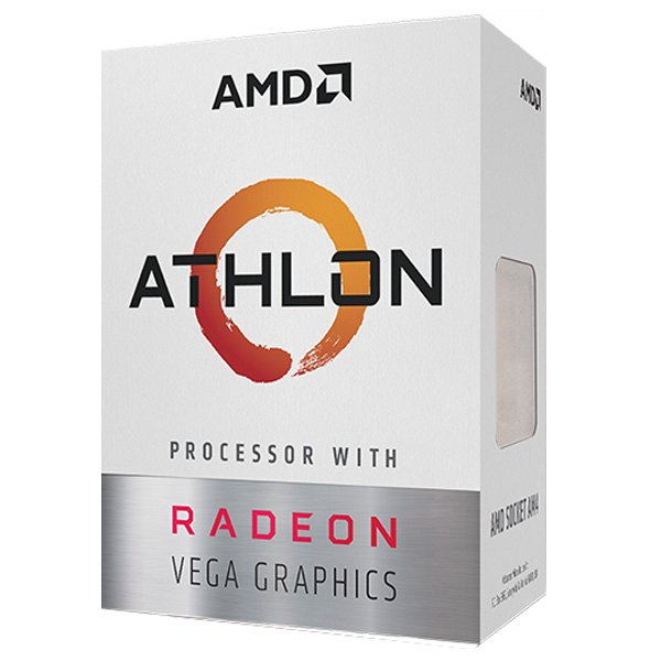 AMD Athlon 200GE BOX Socket AM4対応 VegaベースのGPUコア統合APU YD20GGC6FBBOX