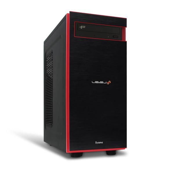 iiyamaゲームPCLEVEL-R049-iX7-RBX-M Corei7-10700/16GBメモリ/500GBM.2SSD