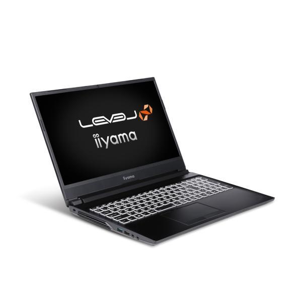 iiyamaゲームノートPCLEVEL-15FXR23-i7-RAZX-M 15.6型フルHD/Corei7-10870H/32