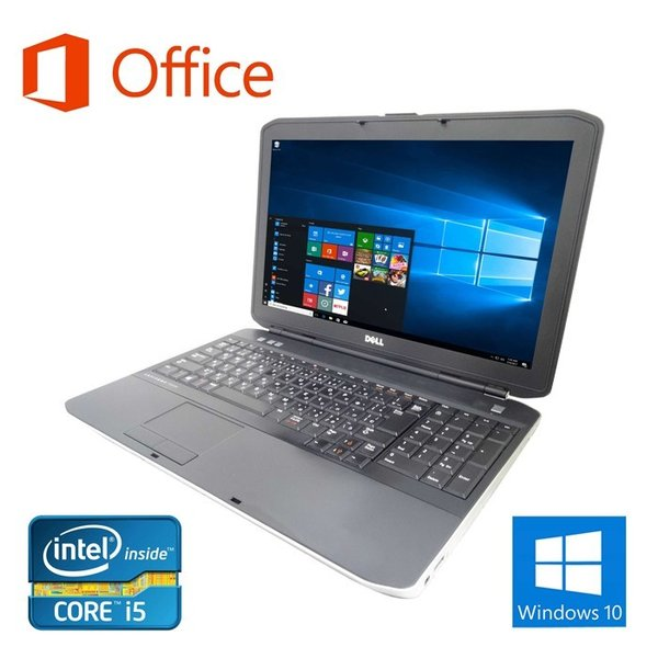 ノートパソコン 中古パソコン Microsoft Office2016搭載 Win10 DELL E5440 第四世代Corei5 新品SSD120GB メモリ8GB 無線14型 Bluetooth HDMI WEBカメラ 付|pc-m|02