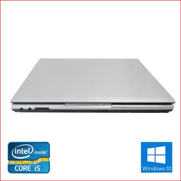 中古 ノートパソコン ノートPC Office2016搭載 Win10  64Bit NEC VB-F 第三世代Core i5 2.6GHz メモリ8GB HDD500GB 12インチ 無線LAN DVDマルチ pc-m 03