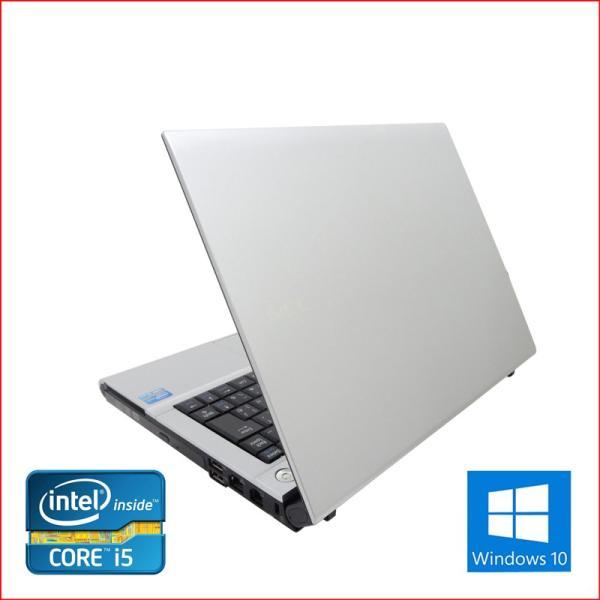 中古 ノートパソコン ノートPC Office2016搭載 Win10  64Bit NEC VB-F 第三世代Core i5 2.6GHz メモリ8GB HDD500GB 12インチ 無線LAN DVDマルチ pc-m 04