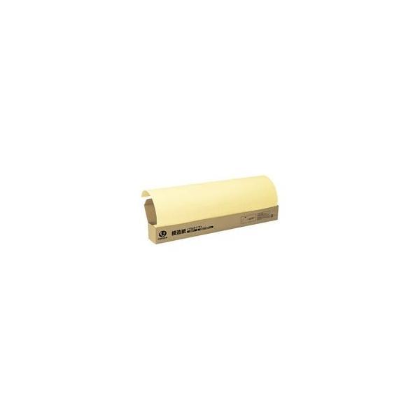 (まとめ)ジョインテックス 方眼模造紙プルタイプ50枚クリーム P152J-Y〔×2セット〕