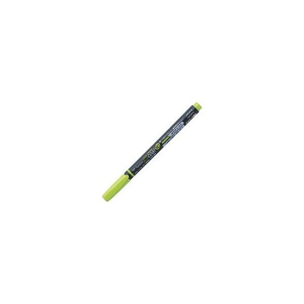 (業務用300セット) トンボ鉛筆 蛍光マーカー/蛍コート80 〔黄緑〕 WA-SC92